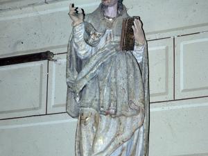 Iglesia parroquial de San Pedro. Escultura. San Agustín