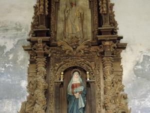 Ermita de la soledad. Retablo de la Virgen de la Soledad