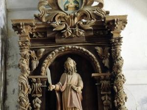 Ermita de la soledad. Retablo de San Bartolomé
