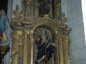 Iglesia parroquial de San Juan Bautista. Retablo de la Dolorosa