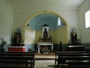 Ermita de Ergiña. Altar de la ermita