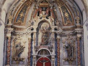 Iglesia parroquial de San Miguel. Retablo de San Miguel Arcángel