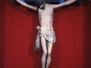 Iglesia parroquial de San Miguel. Escultura. Cristo Crucificado
