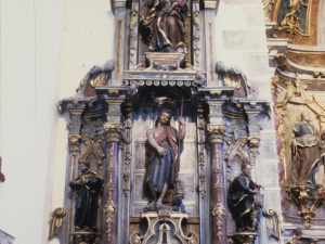 Iglesia parroquial de San Miguel. Retablo de San Juan Bautista