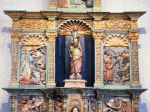 Ermita de San Cristóbal. Retablo de San Cristóbal