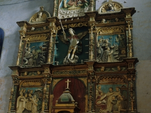Iglesia parroquial de San Martín. Retablo de San Miguel Arcángel