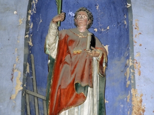 Iglesia parroquial de San Martín. Escultura. San Lorenzo