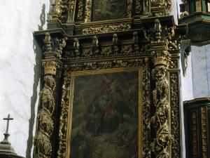 Iglesia parroquial de San Martín. Retablo de la Virgen del Rosario
