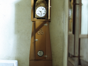Iglesia parroquial de Nuestra Señora de la Asunción. Reloj de pie