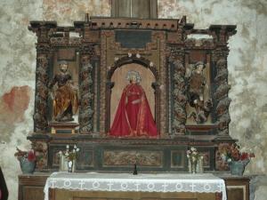 Ermita de Santa Bárbara. Retablo de Santa Bárbara