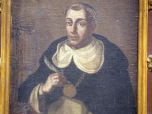 Iglesia parroquial de San Salvador. Pintura. Santo dominico