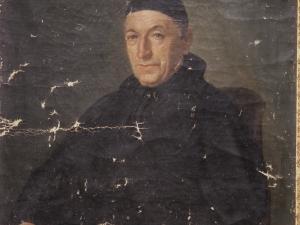 Iglesia parroquial de San Salvador. Pintura. Retrato de Pedro José de Echavarri