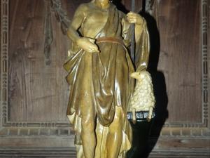 Iglesia parroquial de San Salvador. Escultura. San Juan Evangelista