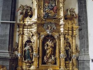 Iglesia parroquial de San Martín de Tours. Retablo de la Virgen del Carmen