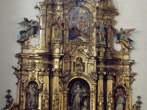 Iglesia parroquial de San Martín de Tours. Retablo de la Inmaculada Concepción