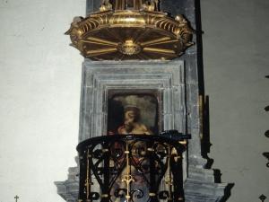 Iglesia parroquial de San Martín de Tours. Púlpitos