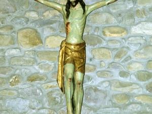 Iglesia parroquial de Santa Cruz de Zumea. Escultura. Cristo Crucificado