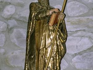 Iglesia parroquial de Santa Cruz de Zumea. Escultura. San Antón