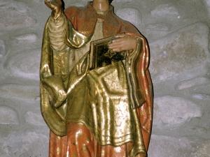 Iglesia parroquial de Santa Cruz de Zumea. Escultura. San Eutropio