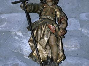 Iglesia parroquial de Santa Cruz de Zumea. Escultura. San Juan Bautista