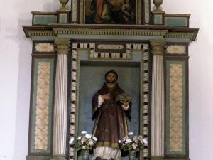 Ermita de San Esteban de Urdaiaga. Retablo de San Esteban