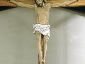 Ermita de San Esteban de Urdaiaga. Escultura. Cristo Crucificado