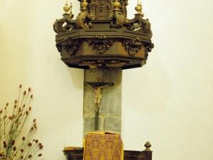 Iglesia parroquial de San Martín de Tours de Sorabilla. Púlpito
