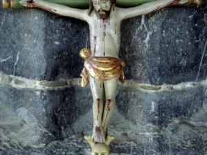 Iglesia parroquial de San Martín de Tours de Sorabilla. Escultura. Cristo Crucificado