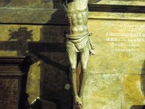 Iglesia parroquial de Nuestra Señora de la Piedad. Escultura. Cristo Crucificado