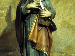 Iglesia parroquial de Nuestra Señora de la Piedad. Escultura. San Bartolomé