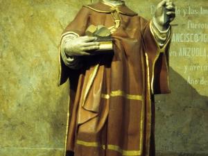 Iglesia parroquial de Nuestra Señora de la Piedad. Escultura. San Esteban