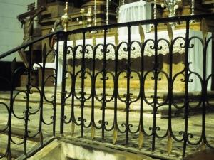 Iglesia parroquial de Nuestra Señora de la Piedad. Reja