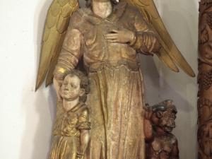 Ermita de Nuestra Señora de la Antigua. Escultura. Ángel de la Guarda