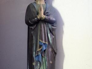 Ermita de Nuestra Señora de la Antigua. Escultura. Santo