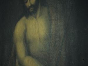 Ermita de Nuestra Señora de la Antigua. Pintura. Ecce-homo