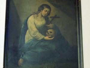 Ermita de Nuestra Señora de la Antigua. Pintura. María Magdalena