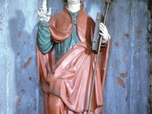 Ermita de San Marcial de Lizarraga. Escultura. San Marcial