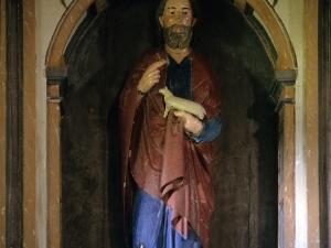 Ermita de Santa Águeda de Txangala. Escultura. Buen Pastor