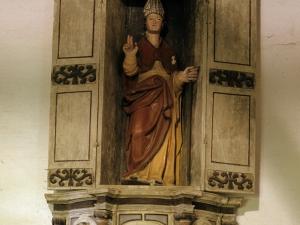 Ermita de Santa Águeda de Txangala. Retablo de San Martín de Tours