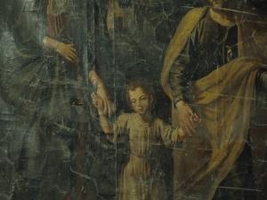 Iglesia parroquial de Nuestra Señora de la Asunción. Pintura. Sagrada Familia