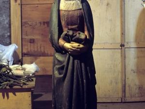 Iglesia parroquial de San Sebastián de Soreasu. Escultura. Virgen