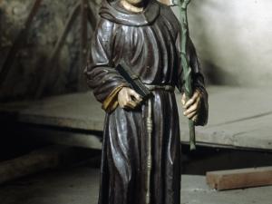 Iglesia parroquial de San Sebastián de Soreasu. Escultura. San Antonio