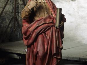 Iglesia parroquial de San Sebastián de Soreasu. Escultura. San Pedro