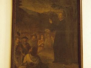 Ermita de la Magdalena. Pintura. San Ignacio de Loyola