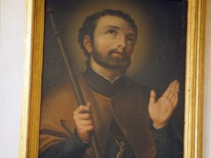 Ermita de la Magdalena. Pintura. San Francisco Javier