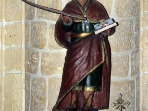 Ermita de la Andra Mari de Olatz. Escultura. San Esteban