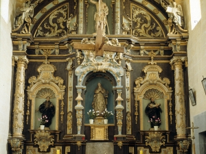 Ermita de San Juan Bautista de Oñaz. Retablo de San Juan Bautista