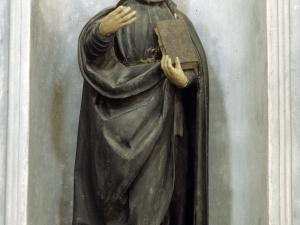 Ermita de San Juan Bautista de Oñaz. Escultura. San Ignacio de Loyola