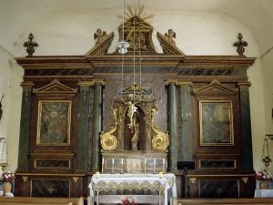 Ermita de Santa Lucía de Elosiaga. Retablo de Santa Lucía