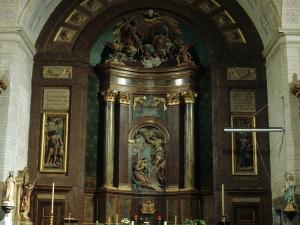 Iglesia parroquial de la Natividad de Urrestilla. Retablo de la Natividad